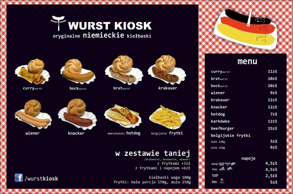 Wurst Kiosk, czyli niemiecki fast food w Polsce