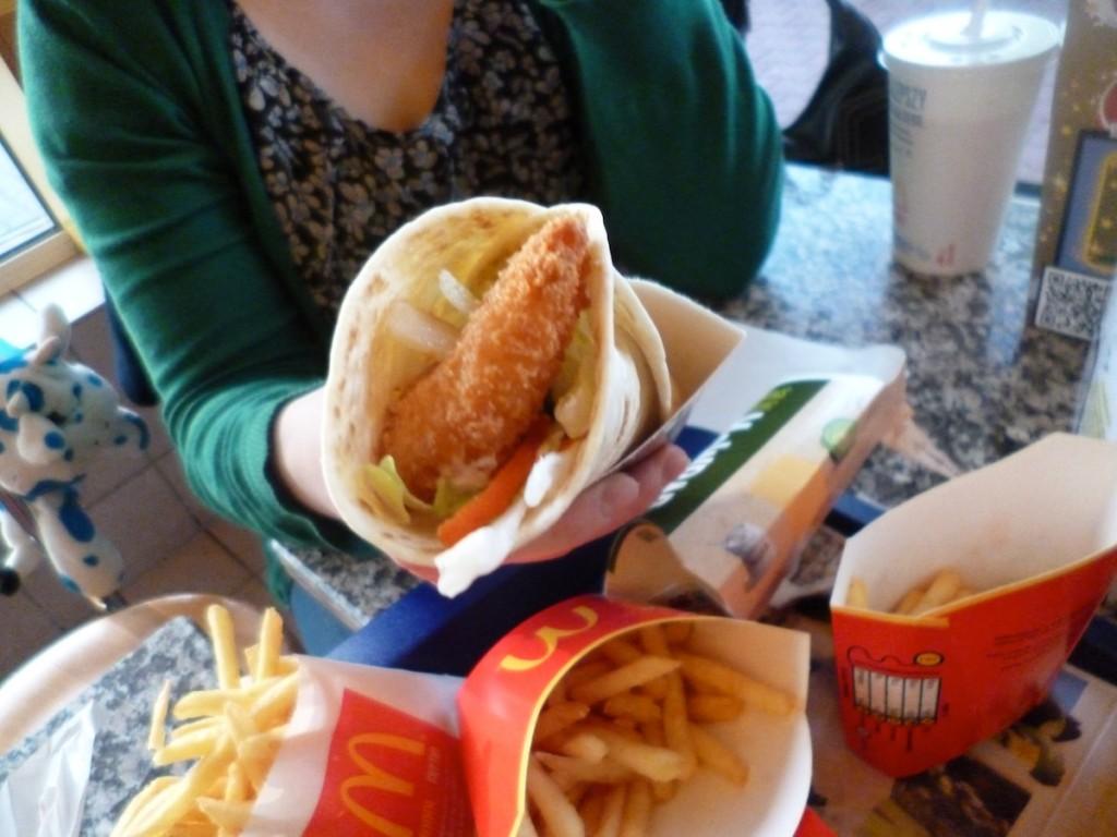 McDonald's po królewsku, czyli krewetki i konkurs