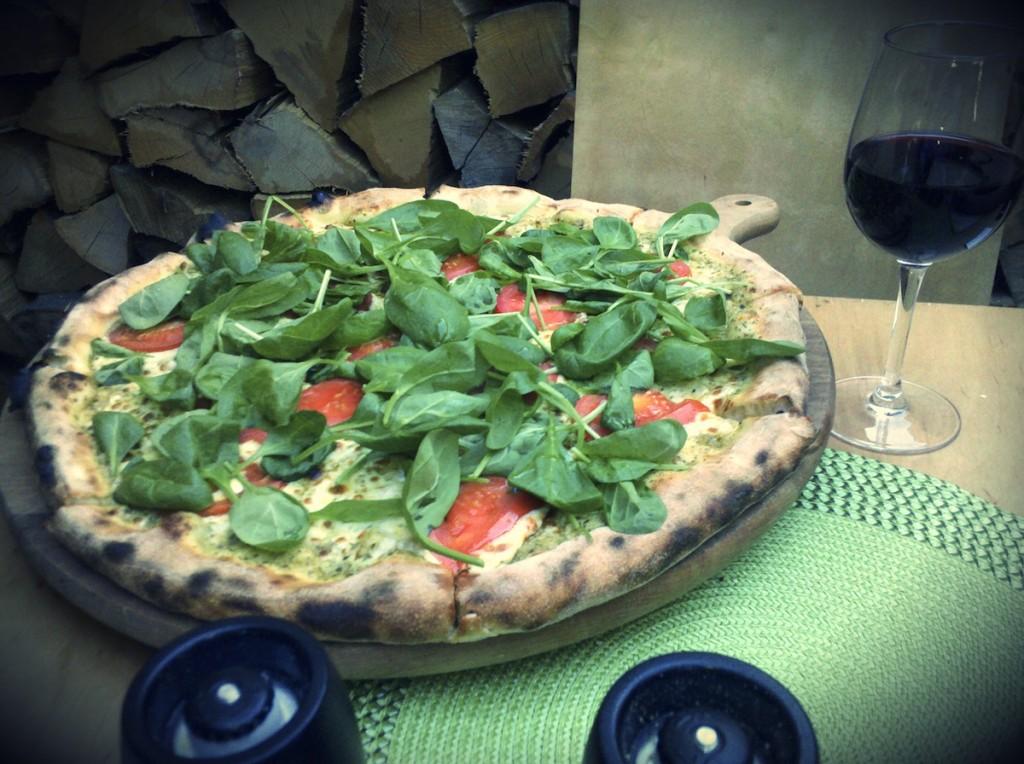 Pizza z pieca i wino z beczki, czyli Pieprz i Bazylia