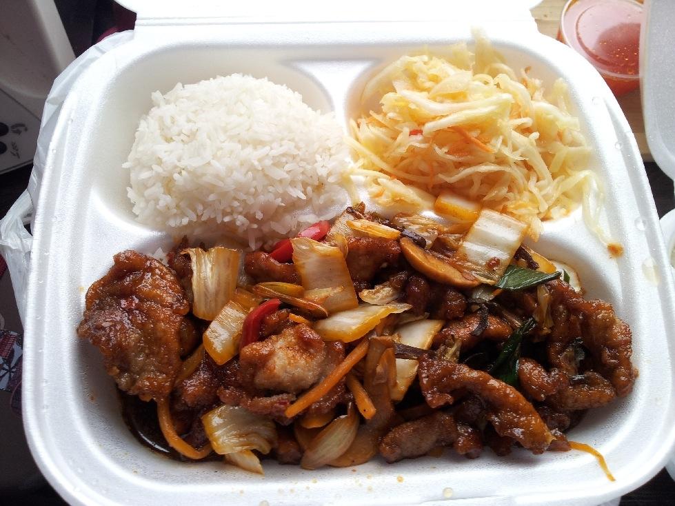 """Bar Orientalny Hong Ho, czyli """"chińszczyzna"""" w Nowej Hucie"""