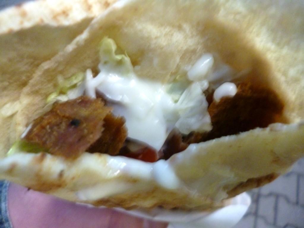 Świetny kebab po libańsku, czyli pita w Fenicji