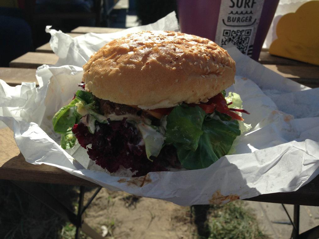 Pyszne burgery w Gdańsku, czyli Mateusz w Surf Burger