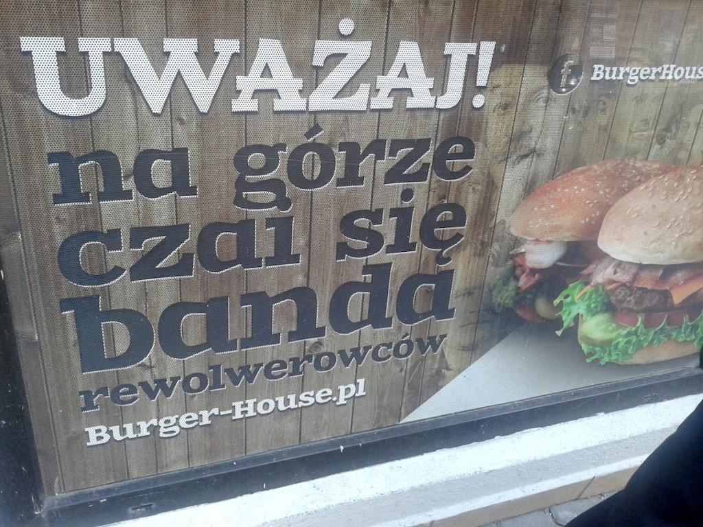 Rewolwerowcy w Poznaniu, czyli Qń w Burger House