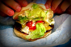 Star - Burger - obanazony