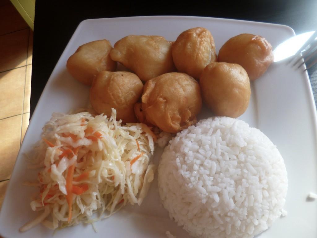 Kurczak w cieście i zupa krewetkowa, czyli powrót do Lan Nhi