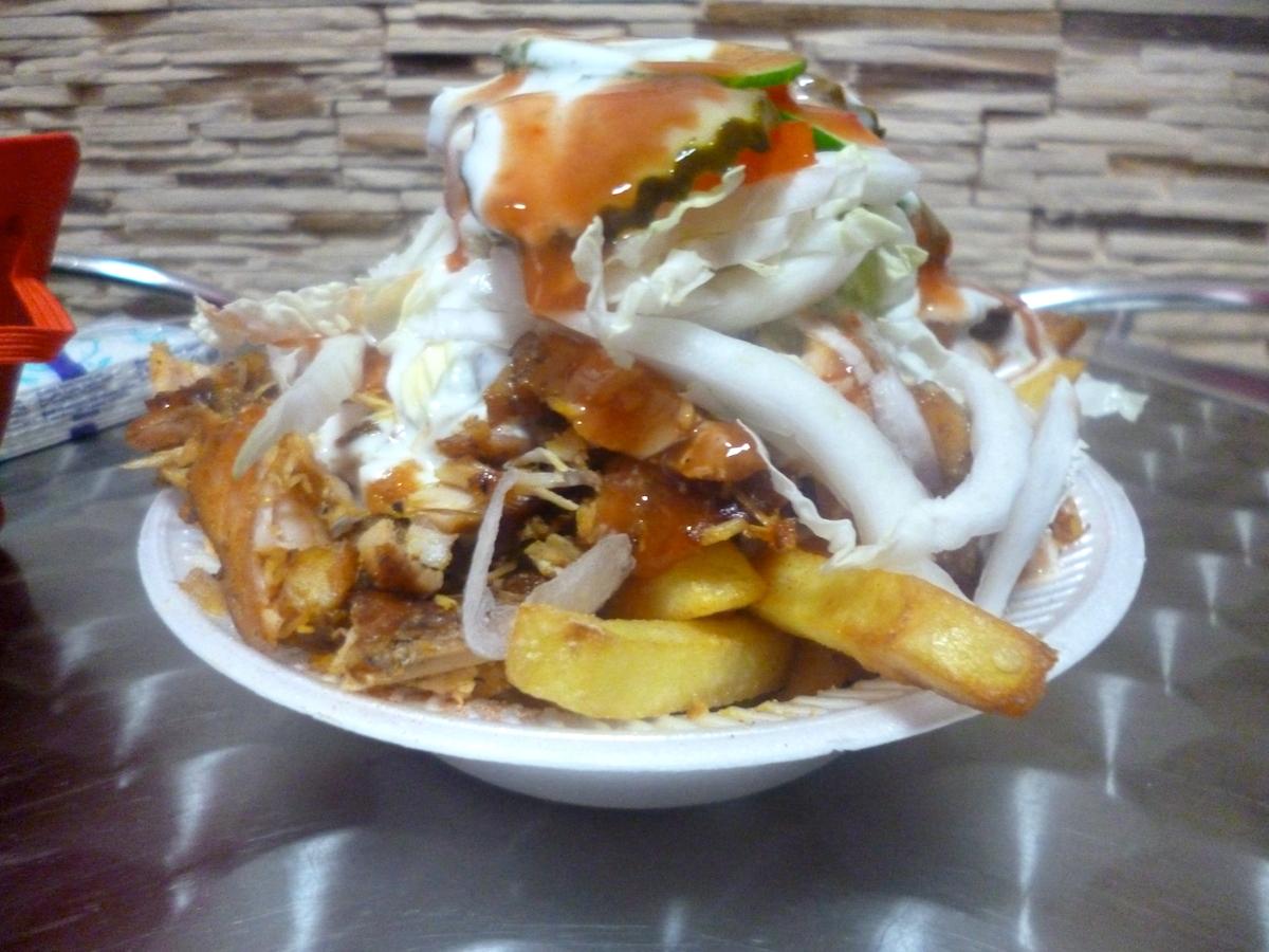 Kebab na frytkach – alternatywa dla schabowego z ziemniakami? Część 2