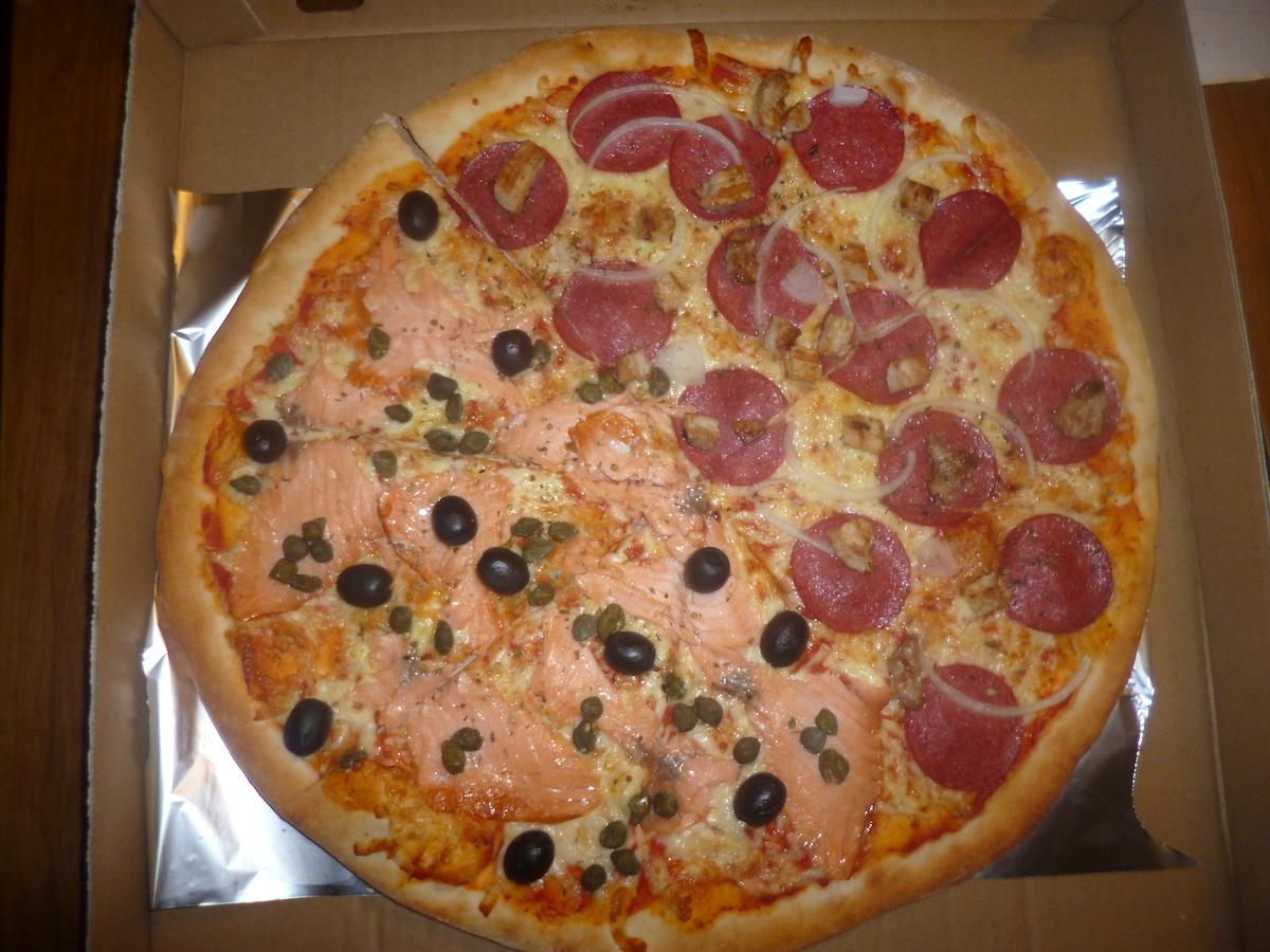 Pizza totalna. La Stella w 4 smakach.