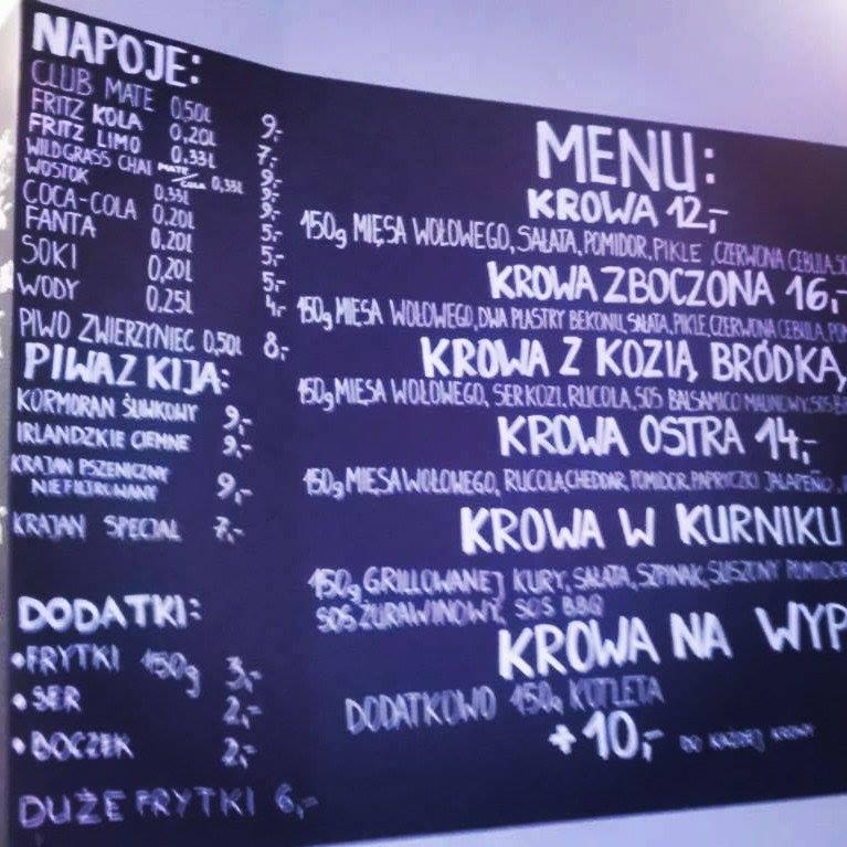 Krowa na Deptaku, czyli nowe burgery w Szczecinie