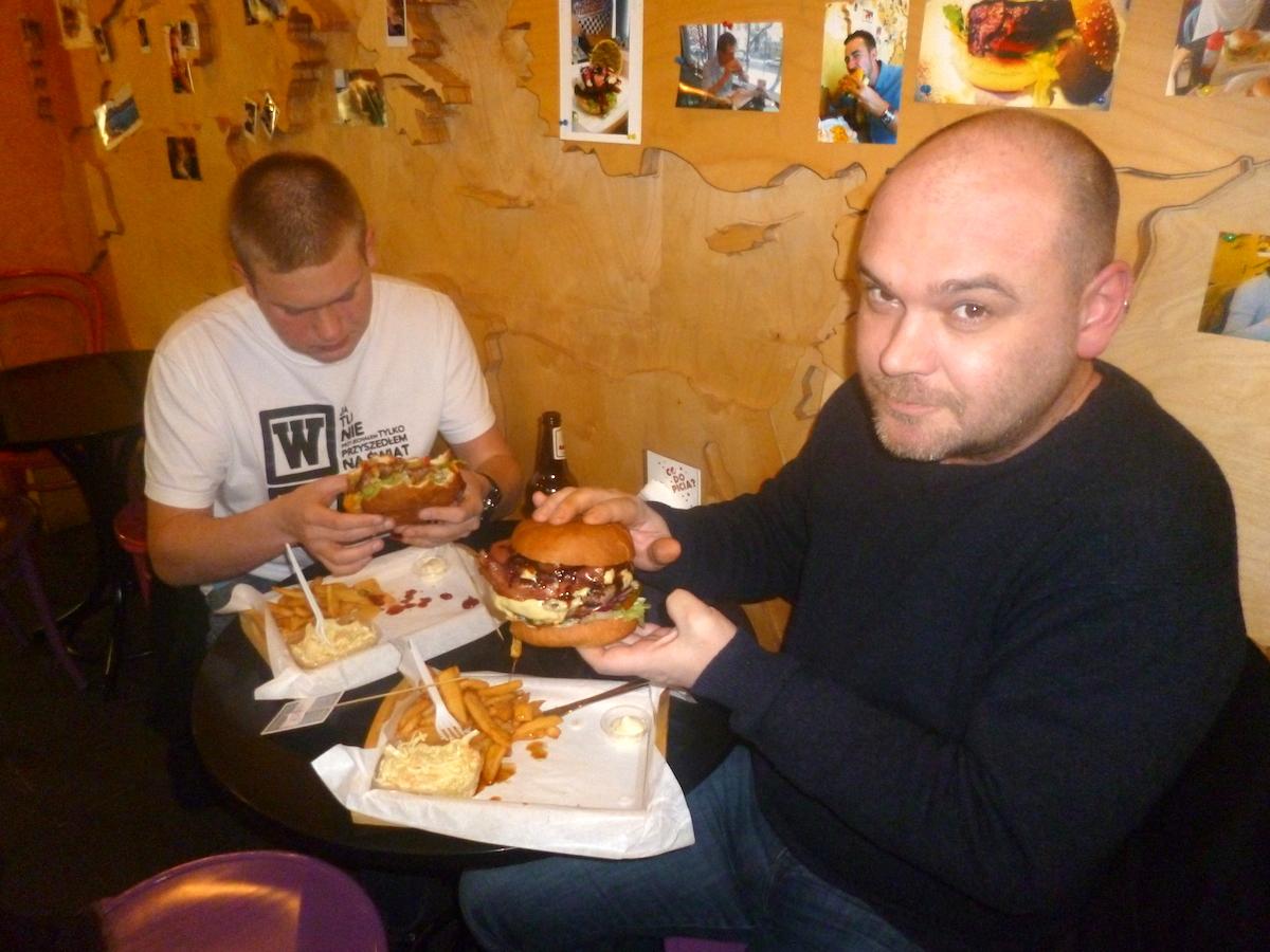 Kielecko-warszawskie spotkanie na szczycie, czyli wizyta w Boca Burgers