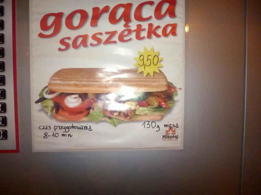 Gorąca Saszetka, czyli typowy dworcowy fast food