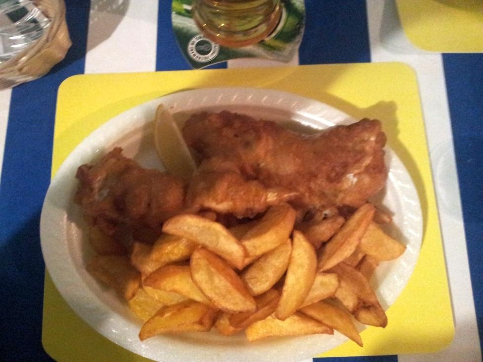 Fish&chips w Dorsche, czyli rybne niebo.