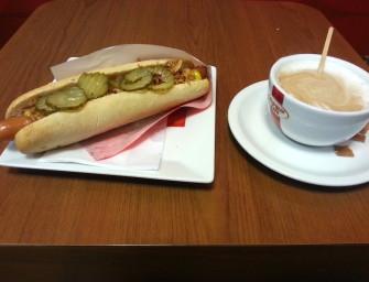 Kebab jak przed laty i hot dog extradługi
