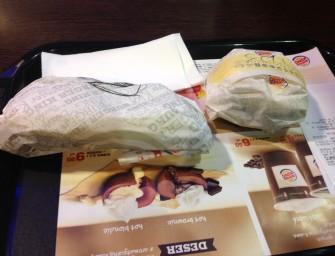 Żeberko i Schab w bułce, czyli Swojskie Klimaty w Burger King