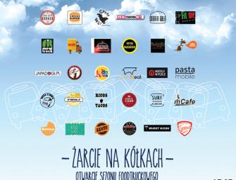 ŻARCIE NA KÓŁKACH vol.3  Otwarcie sezonu foodtruckowego!
