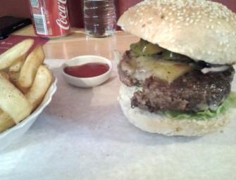 Rock Burger, czyli rockowo tylko w nazwie.