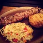 Qń testuje dania z grilla, czyli wizyta w Chacie Marycha