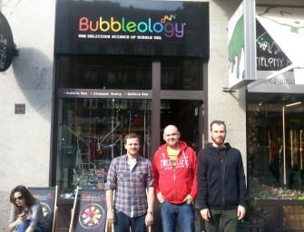 Tapiokowe szaleństwo, czyli wizyta w Bubbleology