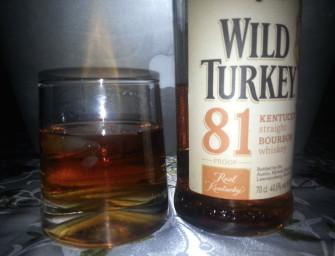 Dziki Indyk z Kentucky, czyli recenzja Wild Turkey Bourbon 81 Proof