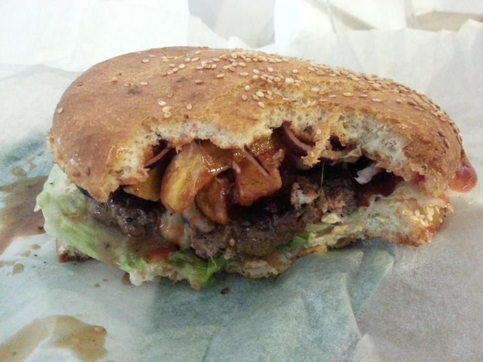 quebec burger wnętrze
