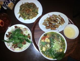 Sajgonki, zupa, sałata i makaron, czyli kolejna wizyta w Toan Pho