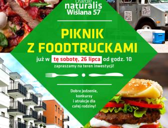 Piknik z food truckami – Osiedle Naturalis Łomianki