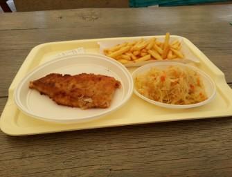 Smażona ryba w Krakowie po raz czwarty.
