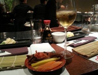 Wieczór na warsztatach sushi w Zen.