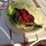Burgery… w sałacie, czyli wizyta w Kik Fit-Bar