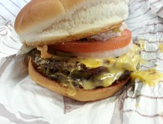 USA: Burgery z sieciówek