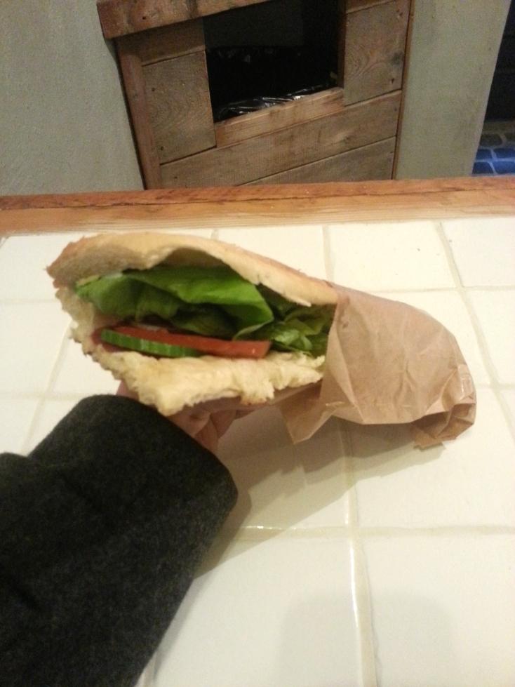 kanapka z salami