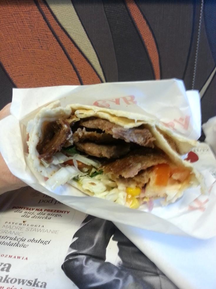 kebab w środku