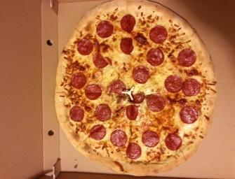 Kolejna pizza na dowóz w Nowej Hucie.