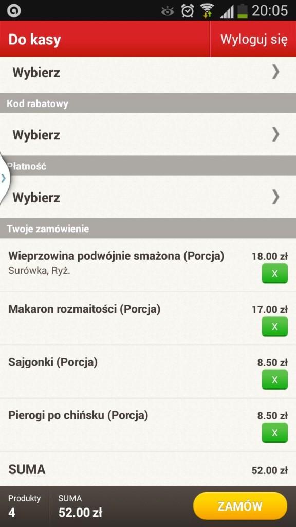 screen zamówienia
