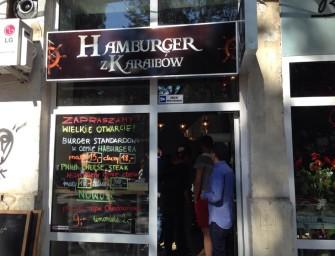 Rośnie nam nowy król, czyli relacja z otwarcia nowego Hamburgera z Karaibów