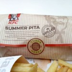 Pita z grillowanym kurczakiem – letnie menu w KFC.