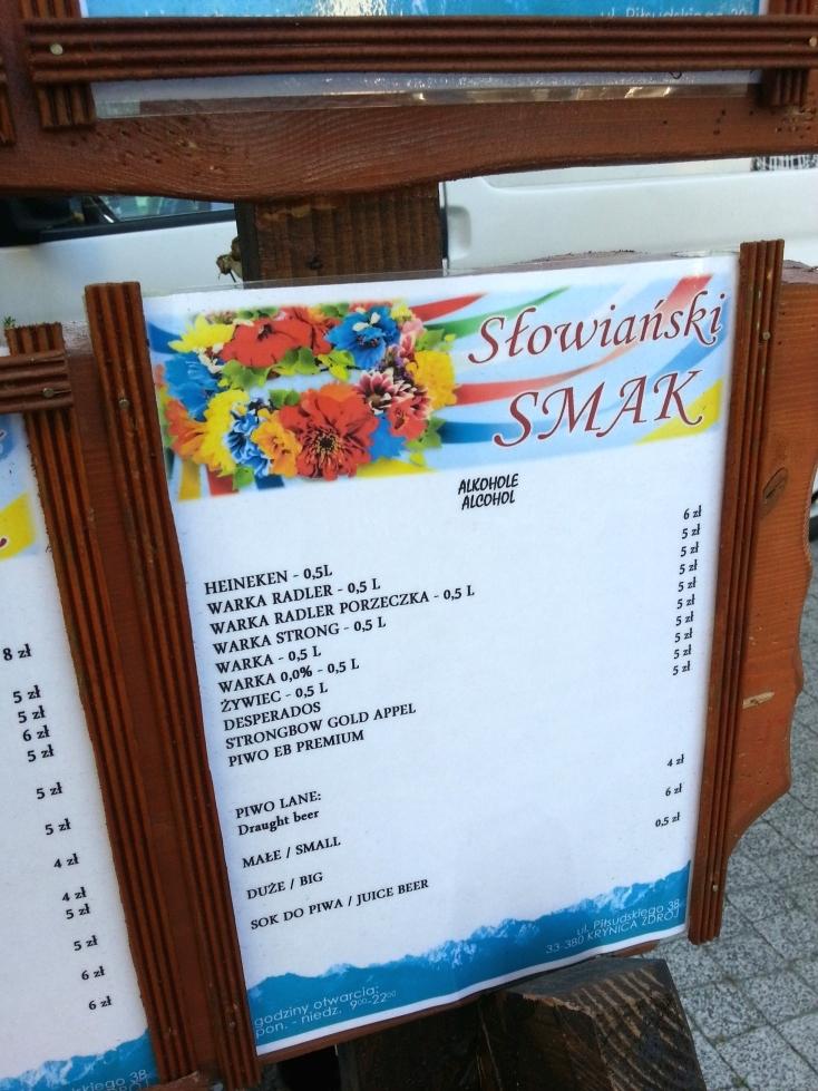 słowiański smak menu6