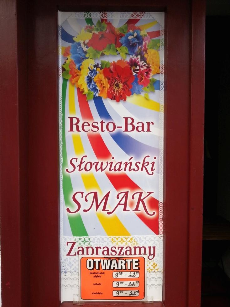 słowiański smak wejście