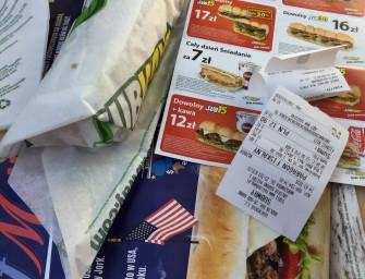 American Big Beef Melt w Subway