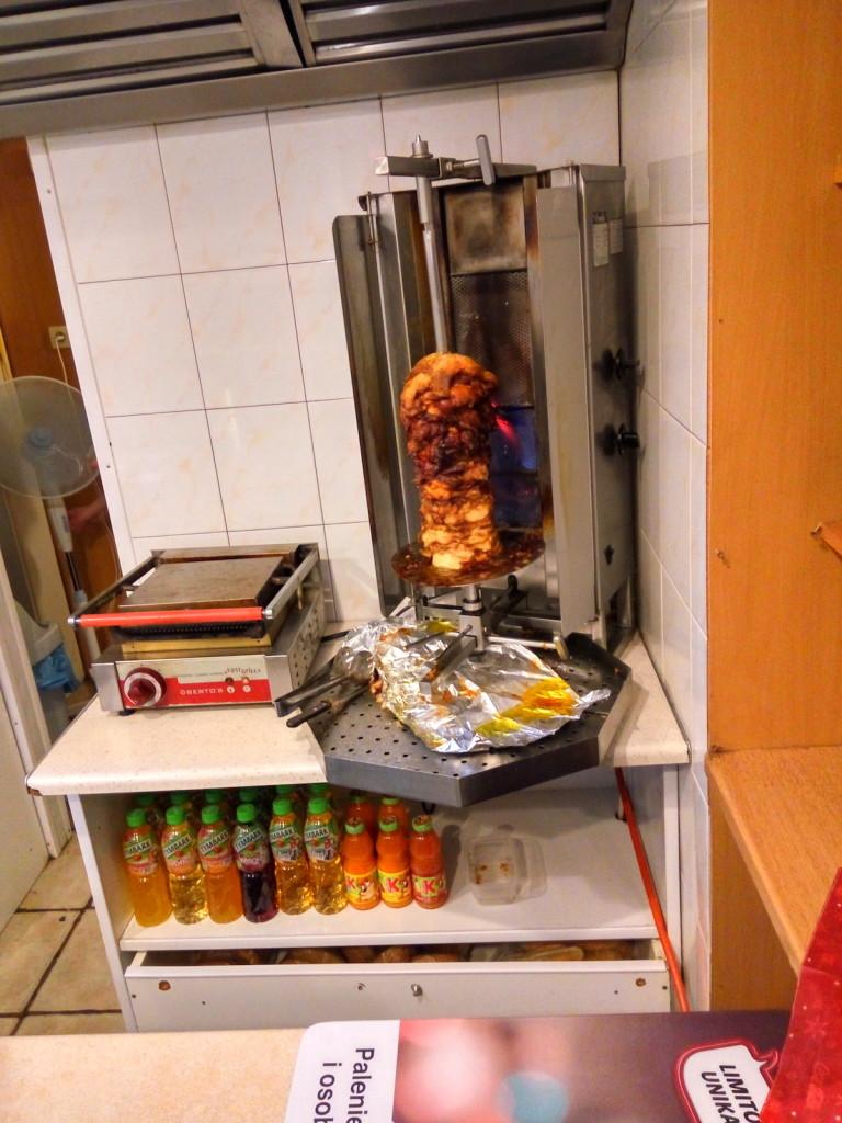 Kebab mieso