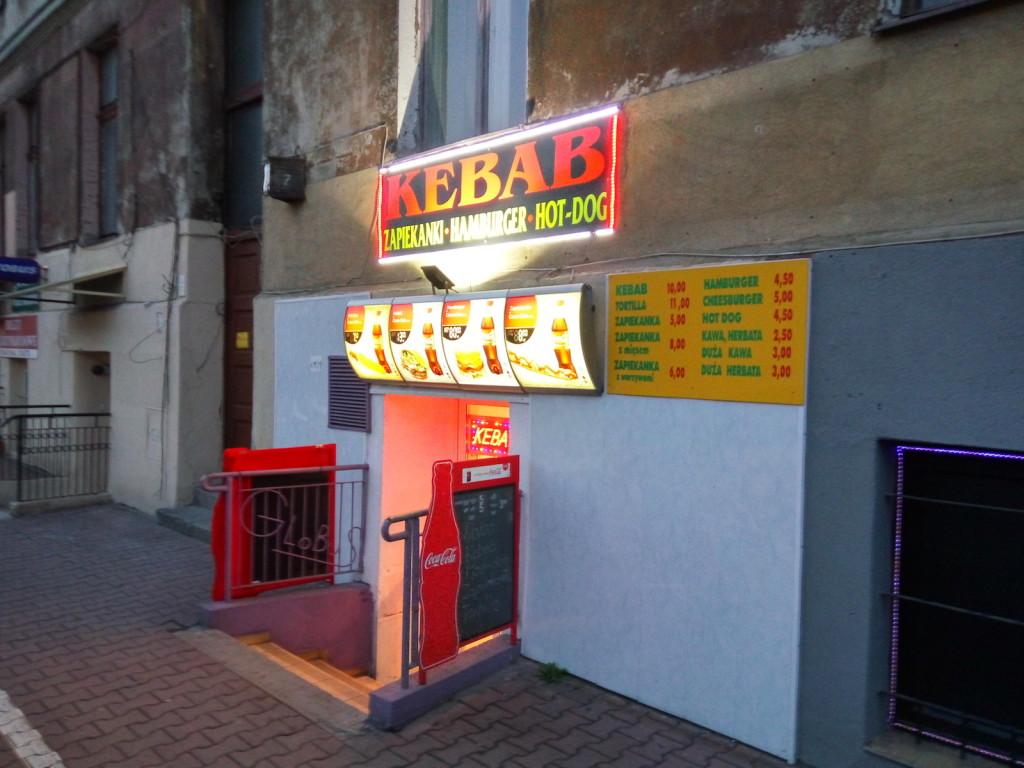 Kebab na zewn•trz