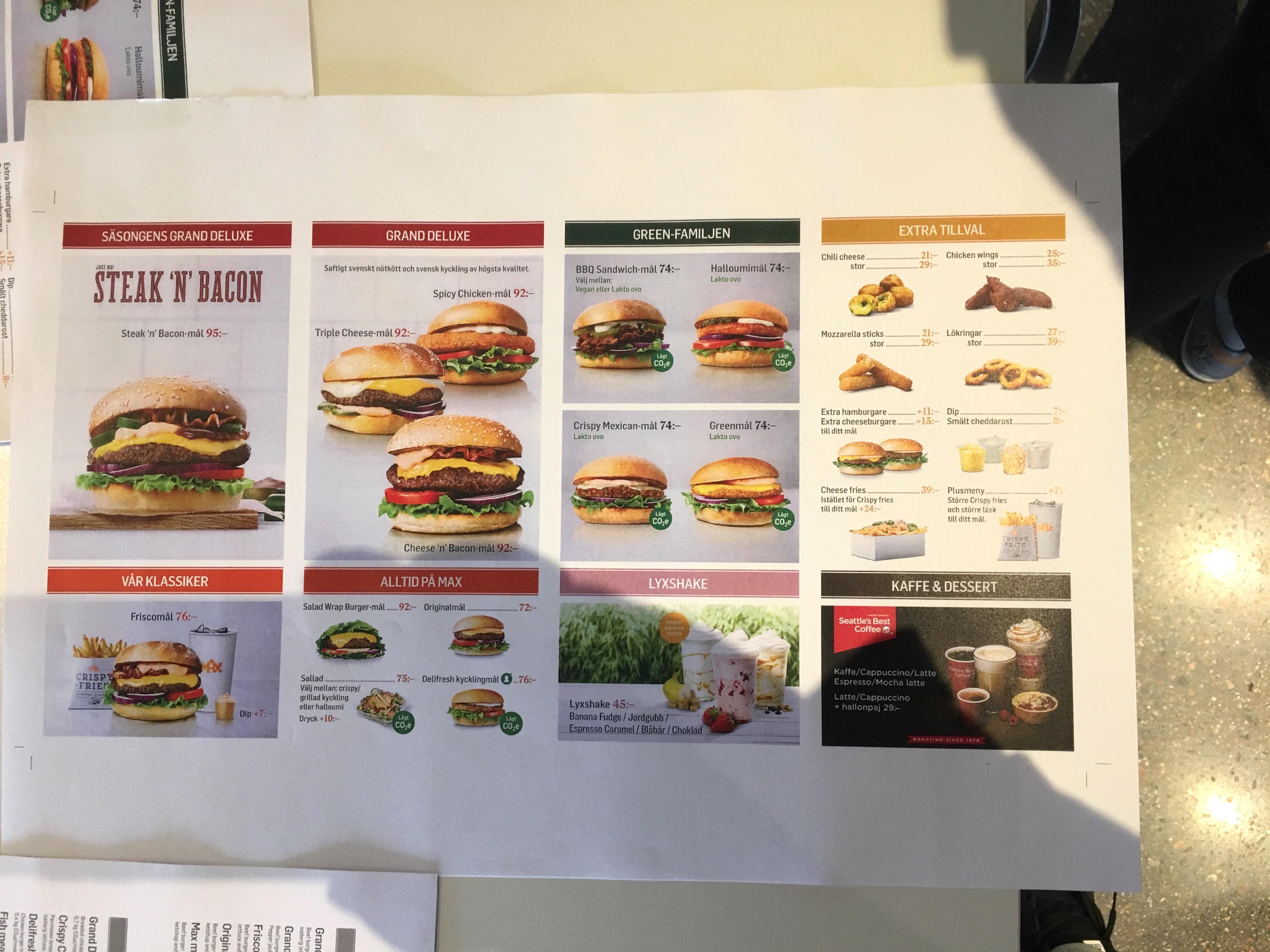 Maxymalnie Dobry Fast Food Z Wizytą W Max Burgers Street