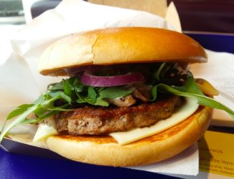 Burger Grzybowy w McDonalds