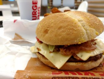California Burger w Burger Kingu