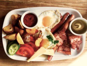 Śniadania i obiady, czyli wypad w Bieszczady. Pod Kudłatym Aniołem